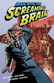 Picture of a book: Man with the Screaming Brain