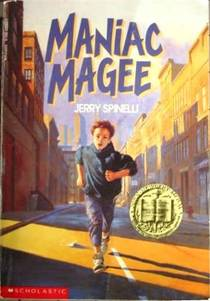 Picture of a book: Maniac Magee
