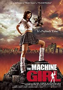 Picture of a movie: The Machine Girl