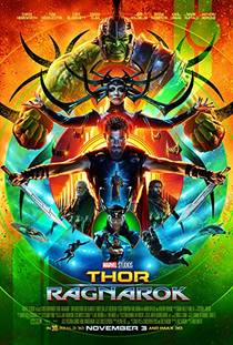 Picture of a movie: Thor: Ragnarok