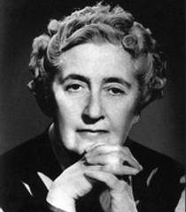 Picture of an author: Agatha Christie