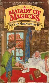 Picture of a book: A Malady Of Magicks