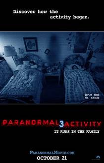 Picture of a movie: Paranormal Activity 3