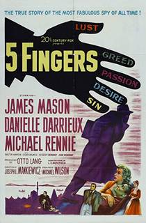 Picture of a movie: 5 Fingers