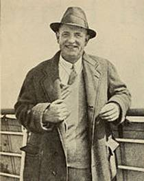 Picture of an author: P.G. Wodehouse