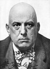Picture of an author: Aleister Crowley