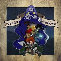 Picture of a podcast: Venture Maidens | A Dungeons And Dragons Podcast