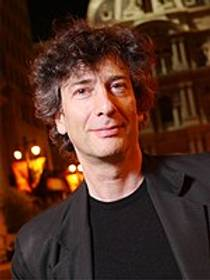 Picture of an author: Neil Gaiman