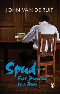 Picture of a book: Spud: Exit, Pursued by a Bear