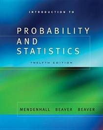 Picture of a book: Introduction To Probability And Statistics