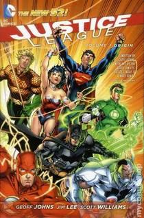 Picture of a book: Justice League, Volume 1: Origin