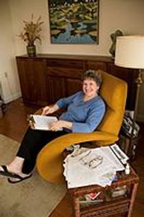 Picture of an author: Phyllis Reynolds Naylor