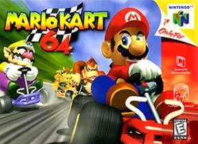Picture of a game: Mario Kart 64