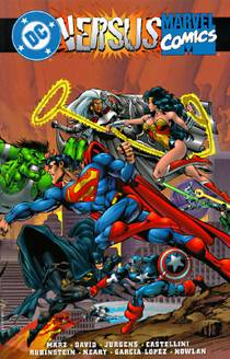 Picture of a book: DC vs. Marvel Comics