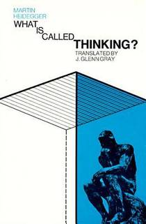 Picture of a book: What is Called Thinking?