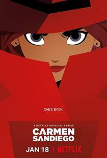 Picture of a TV show: Carmen Sandiego
