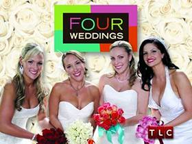 Picture of a TV show: Four Weddings