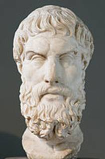 Picture of an author: Epicurus