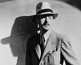 Picture of an author: Dashiell Hammett