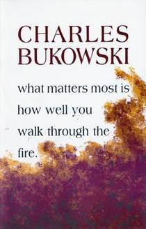 Picture of a book: What Matters Most Is How Well You Walk Through The Fire