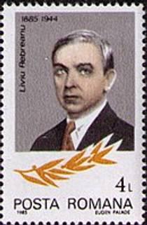 Picture of an author: Liviu Rebreanu