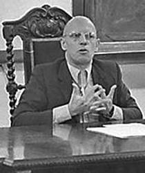 Picture of an author: Michel Foucault