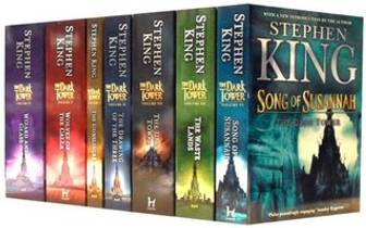 Picture of a book: The Dark Tower Series Collection: The Gunslinger, The Drawing of the Three, The Waste Lands, Wizard and Glass, Wolves of the Cal
