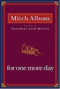 Picture of a book: For One More Day