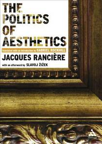 Picture of a book: The Politics of Aesthetics