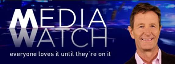 Picture of a TV show: Media Watch