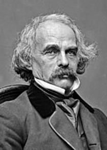 Picture of an author: Nathaniel Hawthorne