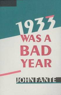 Picture of a book: 1933 Was A Bad Year