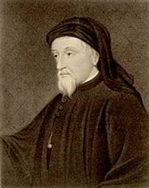 Picture of an author: Geoffrey Chaucer