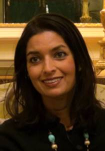 Picture of an author: Jhumpa Lahiri