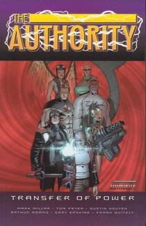 Picture of a book: The Authority, Vol. 4: Transfer of Power