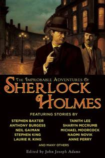Picture of a book: The Improbable Adventures of Sherlock Holmes