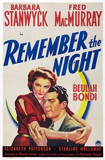 Picture of a movie: Remember The Night
