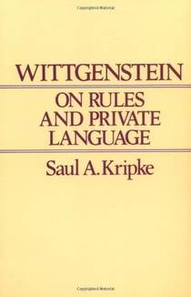 Picture of a book: Wittgenstein on Rules and Private Language: An Elementary Exposition