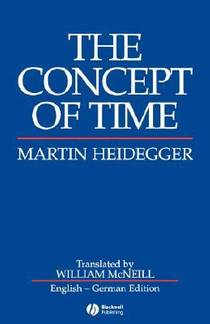 Picture of a book: The Concept of Time
