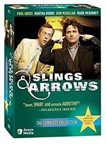 Picture of a TV show: Slings And Arrows