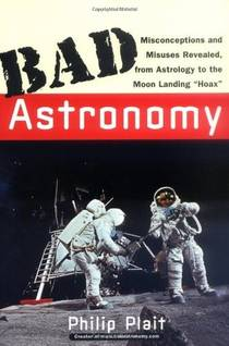 Picture of a book: Bad Astronomy