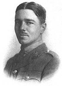 Picture of an author: Wilfred Owen