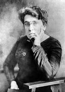 Picture of an author: Emma Goldman