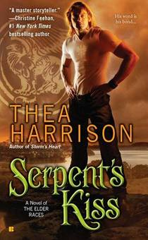 Picture of a book: Serpent's Kiss