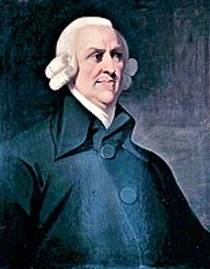 Picture of an author: Adam Smith