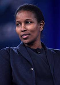 Picture of an author: Ayaan Hirsi Ali