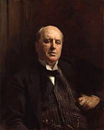 Picture of an author: Henry James