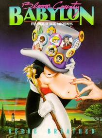 Picture of a book: Bloom County Babylon: Five Years of Basic Naughtiness