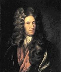 Picture of an author: Daniel Defoe