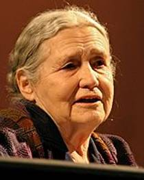 Picture of an author: Doris Lessing